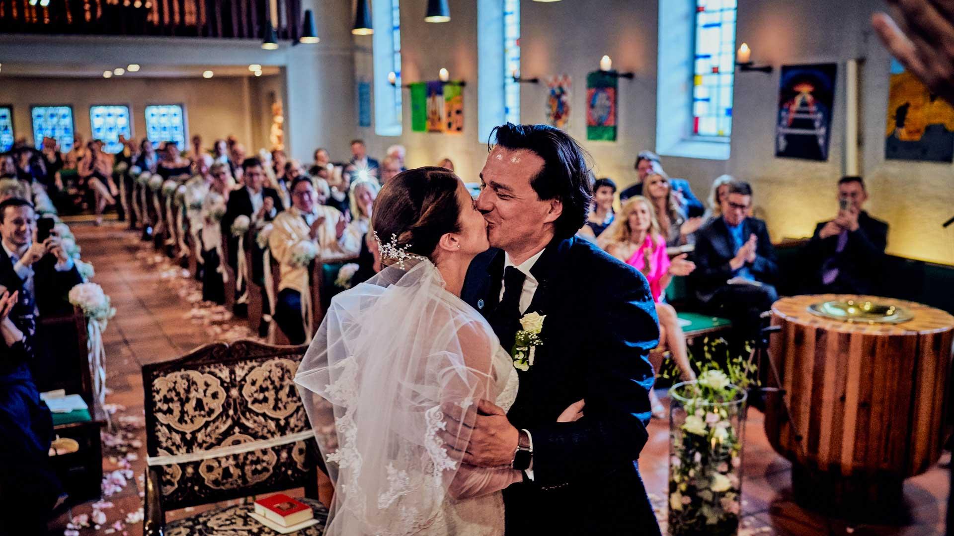 Hochzeit in der Johanneskirche Rissen